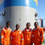 GROUP ABOARD SALVAGE TUG - MARCH 2012
