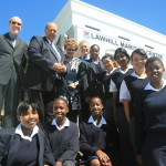 The opening of the new Lawhill Maritime Centre building in March 2010. The modern Lawhill Maritime Centre facilities – generously donated by the TK Foundation (Bahamas) and several other donors – provides comfortable accommodation, dining and recreational facilities for 54 students who live away from Simon's Town and its environs.