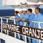 All five Lawhill students who did this coastal trip on the Safmarine Oranje are currently working at sea