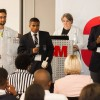 Bokamoso Molale and Thamsanqa (Thami) Hoza, at the 3M and Hip2B2 South African Young Innovators of the Year competition.